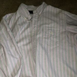 Ralph Lauren casual long sleeve button down shirt